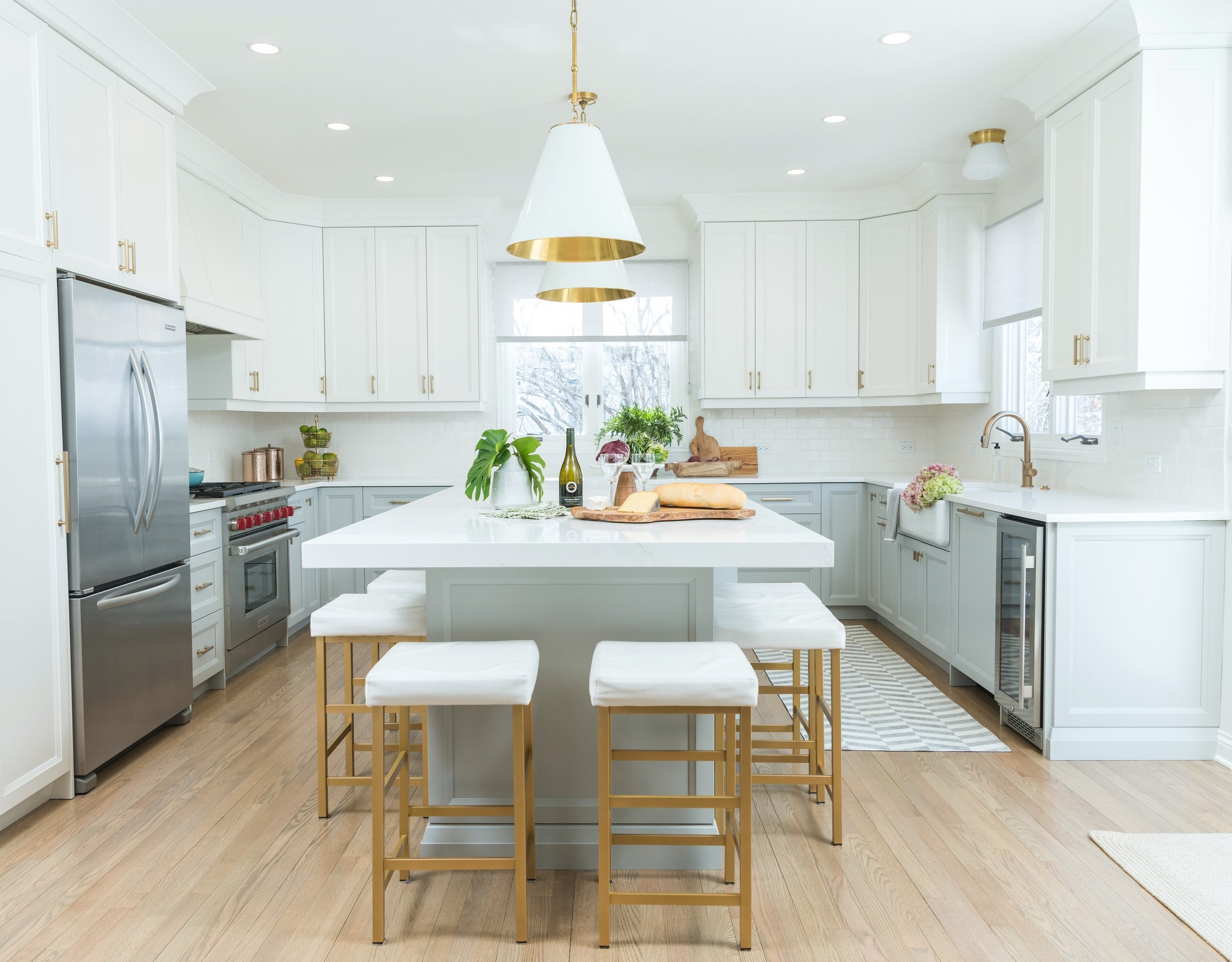 Bright and Fresh Kitchen Remodel