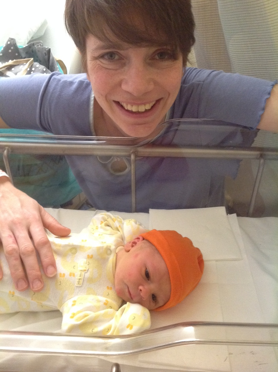julie+cian birth story