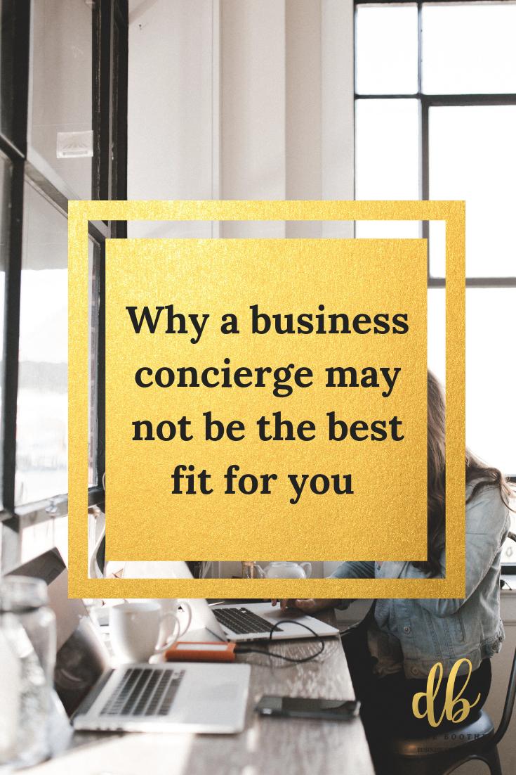 Business concierge