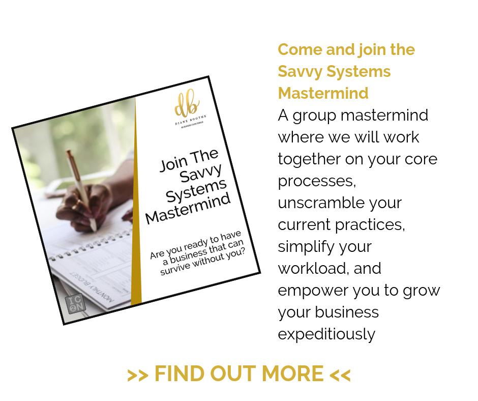 Savvy Systems Mastermind
