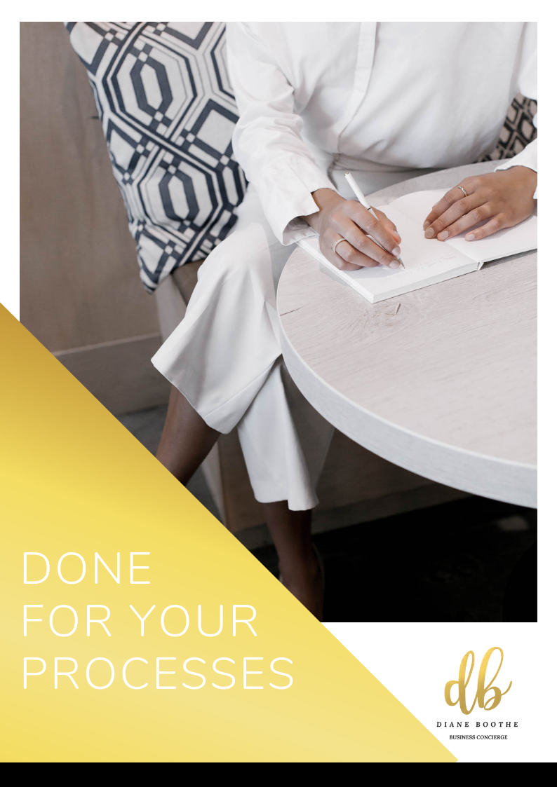 My 'done for you' processes are like the recipes within your business. Enabling you to Increase your revenue Focus more on self-care Grow and scale your business Take much-needed breaks away from your business -