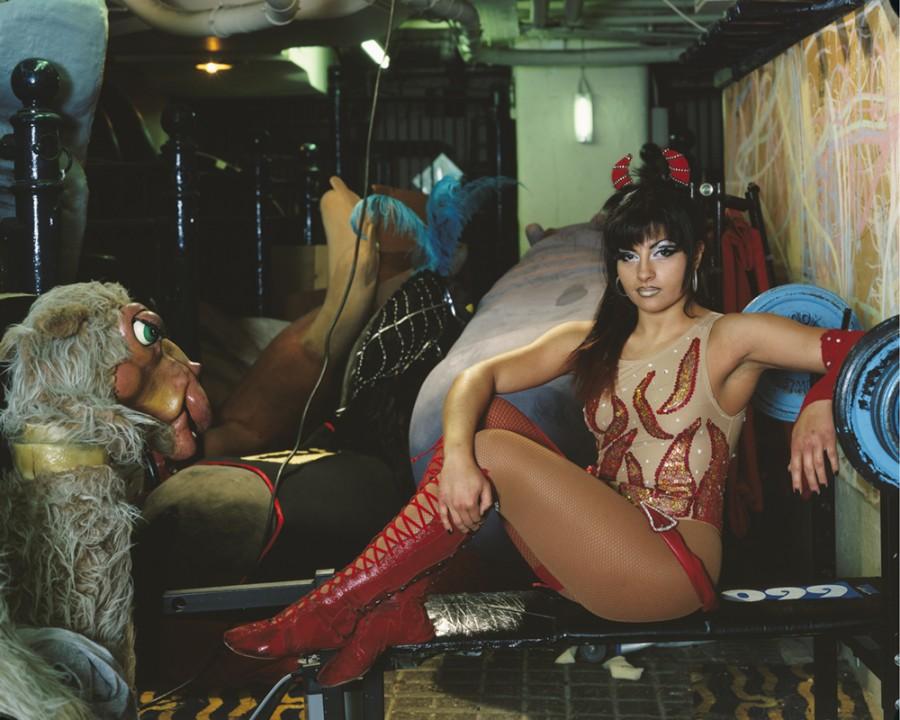 Jana 'The Little Devil' Roberts, Blackpool Tower Circus, 2005