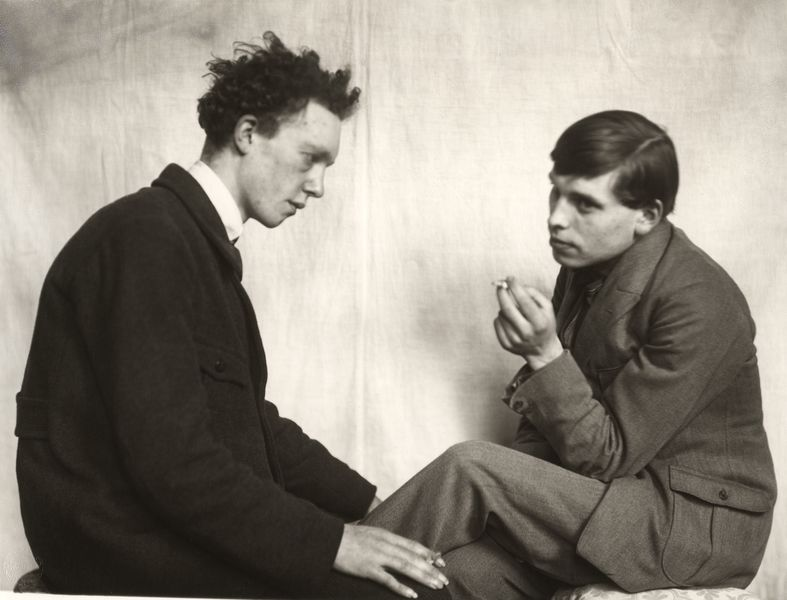 Bohemians: Willi Bongard and Gottfried Brockmann.  © August Sander Archive, Cologne.