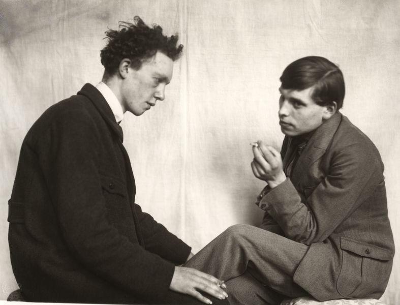 Bohemians: Willi Bongard and Gottfried Brockmann.  © August Sander Archive, Cologne.