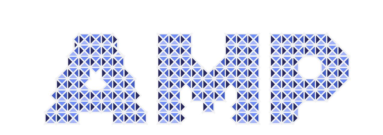 Amp Pixel Bright Blue Multi-Colored website background color