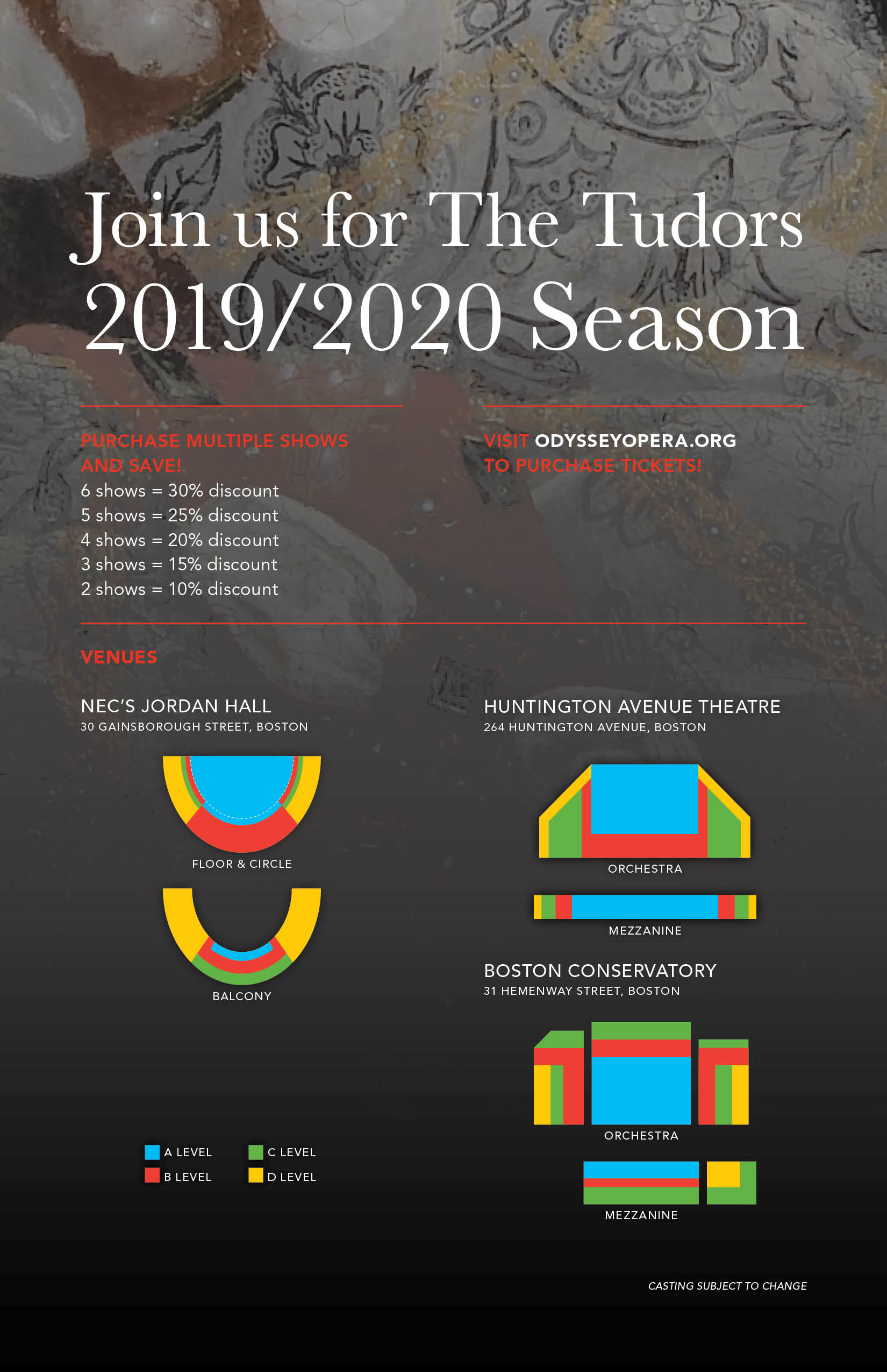 FY19 Season Announcement Mailer D6 Seating Form