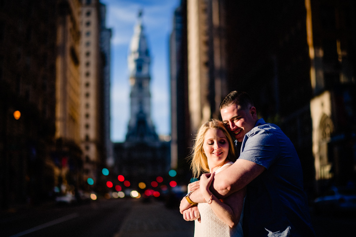 23 - Philadelphia Wedding Photgrapher Broad Street City Hall Enagement-.jpg