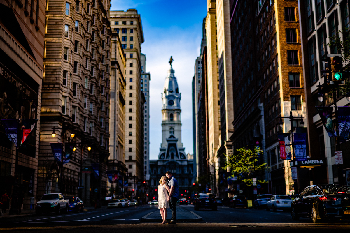 22 - Philadelphia Wedding Photgrapher Broad Street City Hall Enagement-.jpg