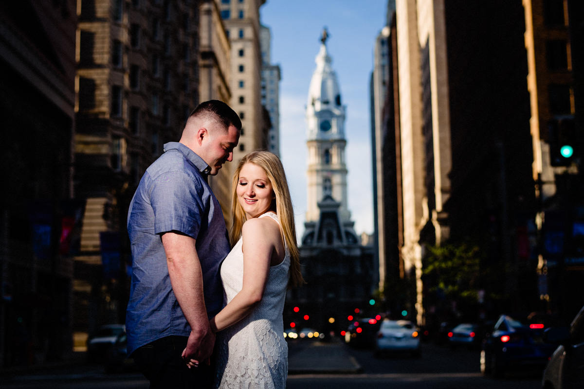 21 - Philadelphia Wedding Photgrapher Broad Street City Hall Enagement-.jpg