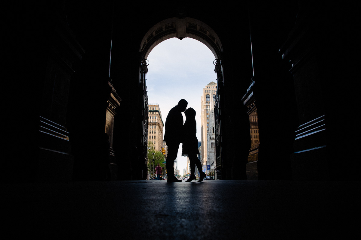 13 - Philadelphia Wedding Photgrapher Broad Street City Hall Enagement-.jpg