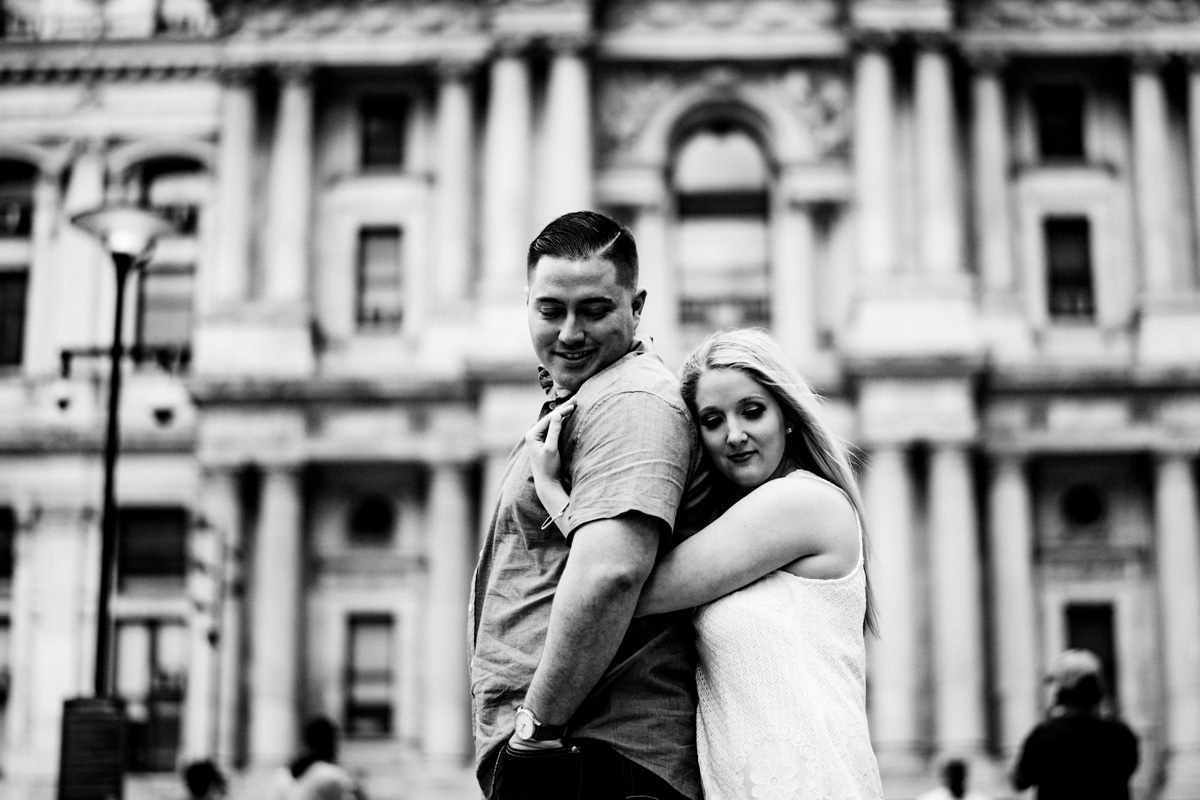 1 - Philadelphia Wedding Photgrapher Broad Street City Hall Enagement-.jpg
