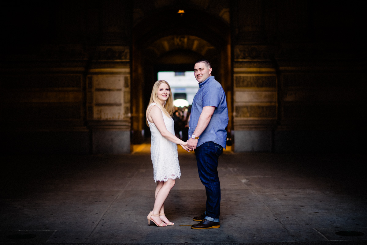 2 - Philadelphia Wedding Photgrapher Broad Street City Hall Enagement-.jpg