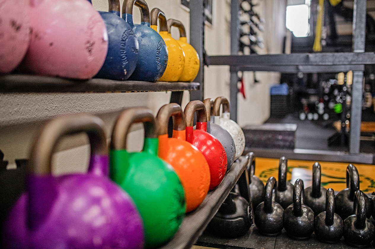 Do you kettle bell well?