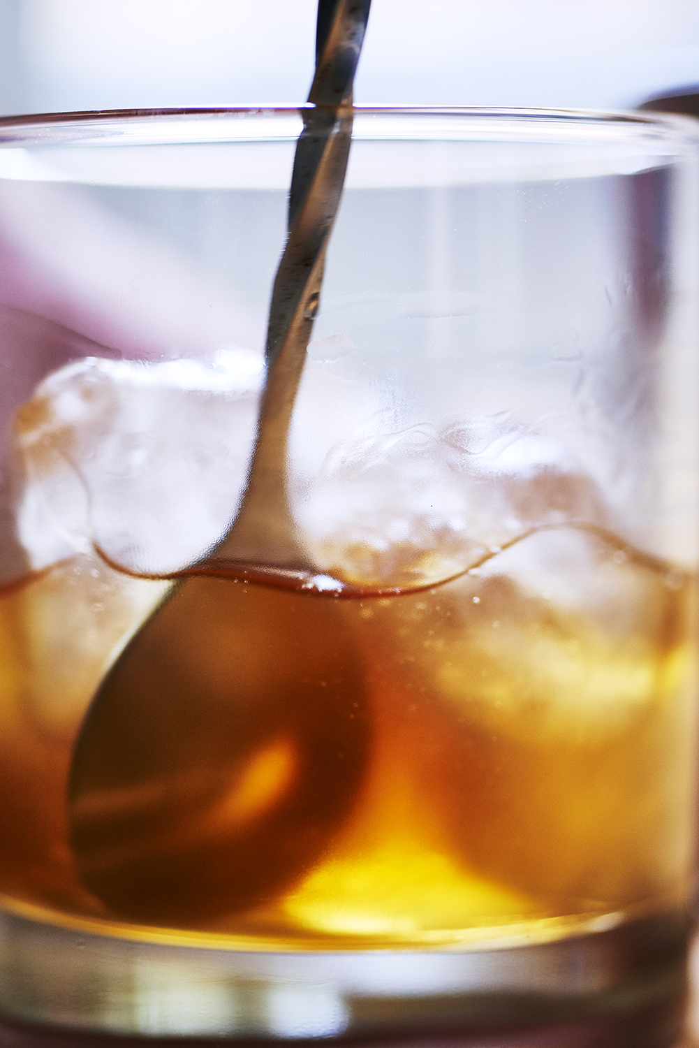 RUM OLD FASHIONED COCKTAIL -