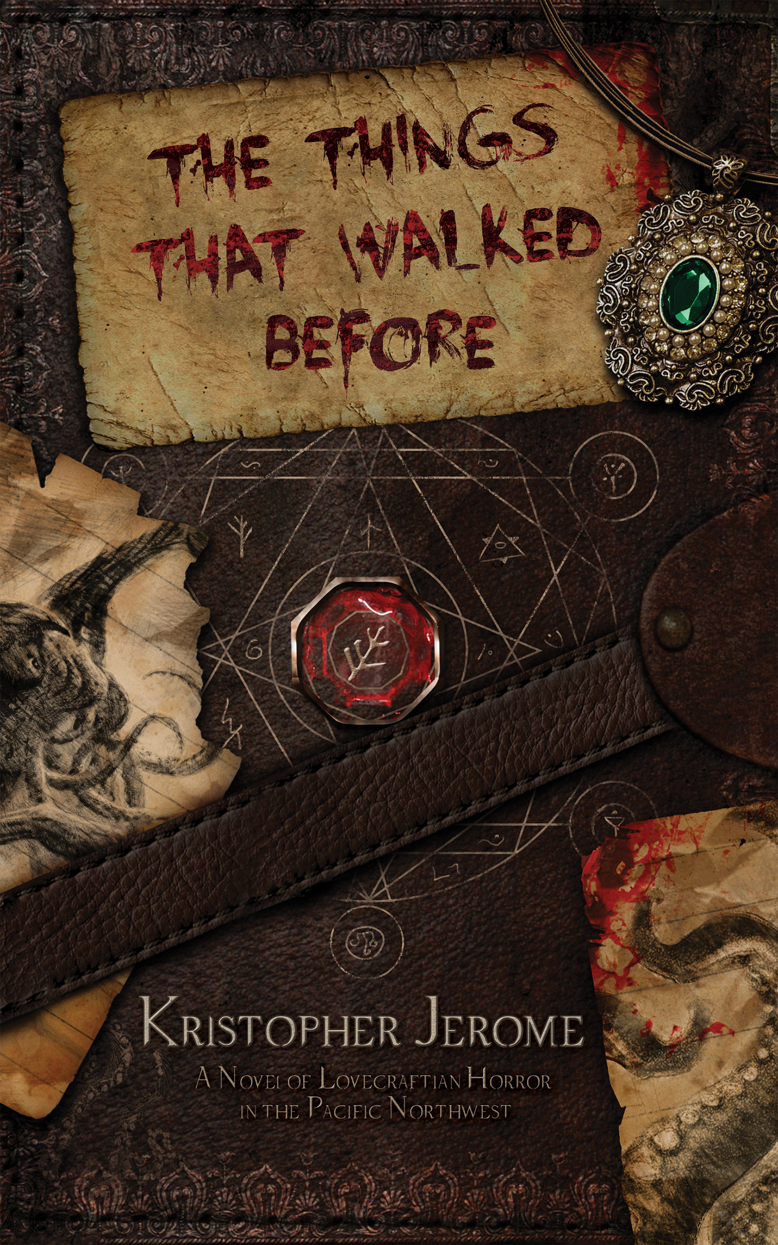 THE THINGS THAT WALKED BEFORE by Kristopher Jerome