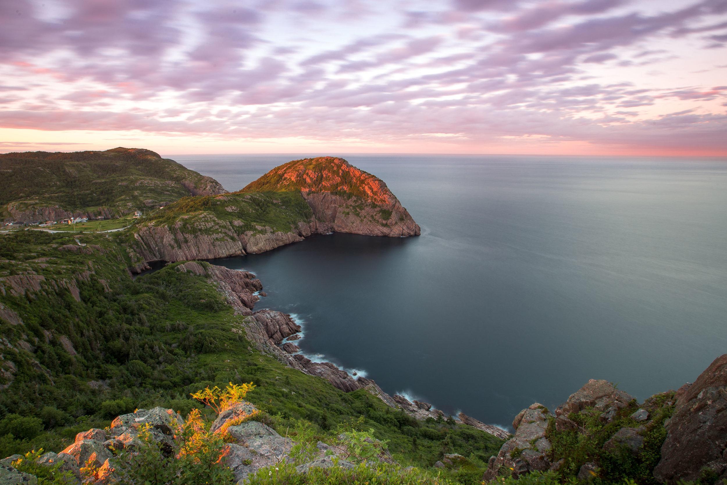 Cuckold's Cove Sunset