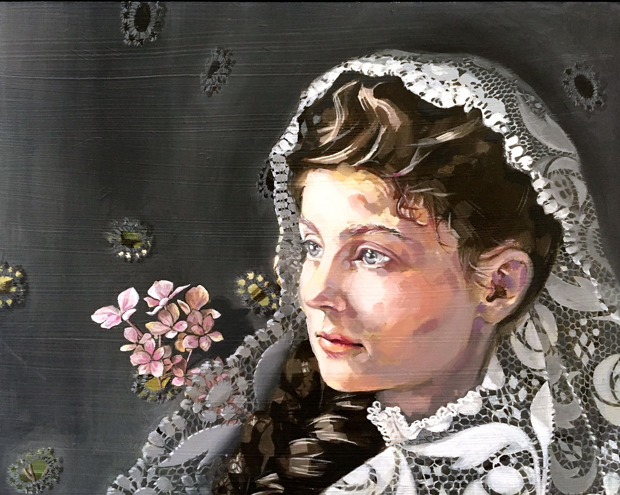 "Lizzie Davant c. 1900 | 10x8"" | $650"