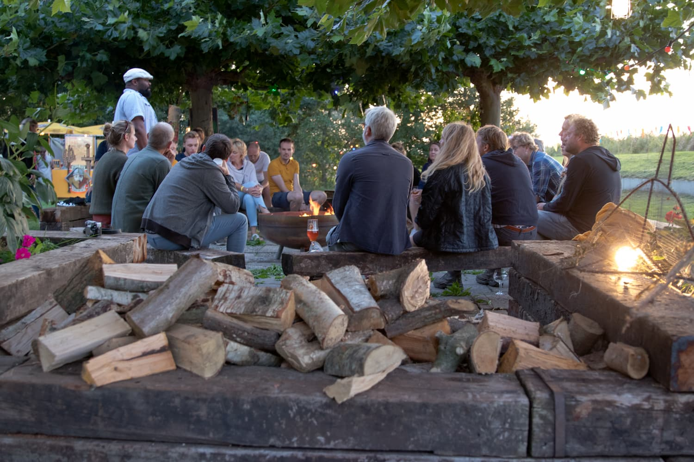 Voldoende houtblokken
