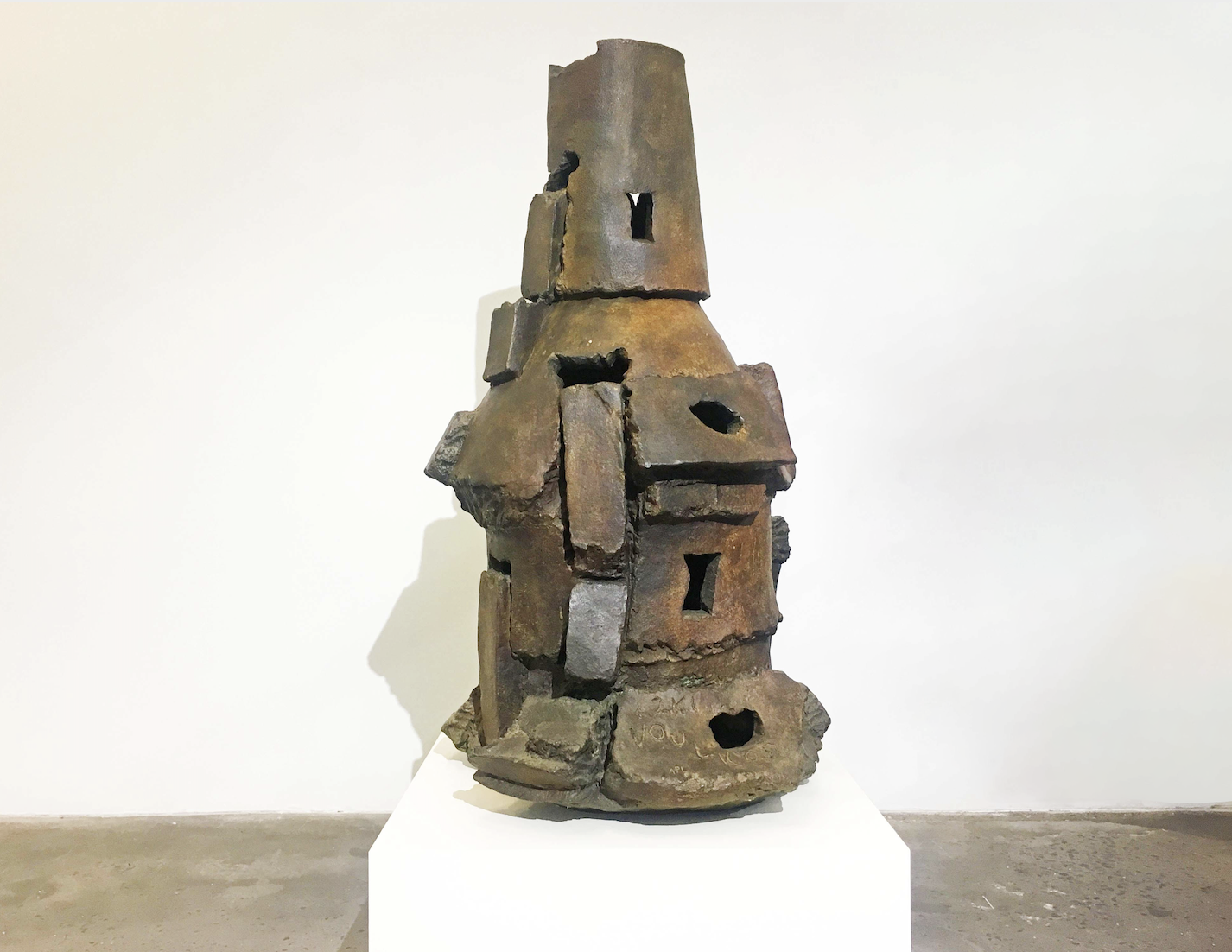 Peter Voulkos,  Isis,  bronze,   2001, 50.5 x 26 x 26 inches, A.P. 1