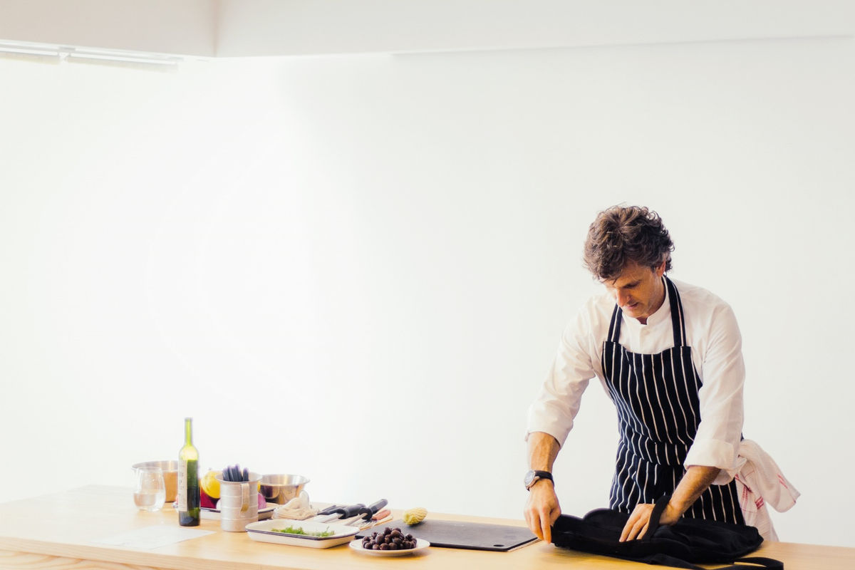Clases de cocina por Pablo Massey