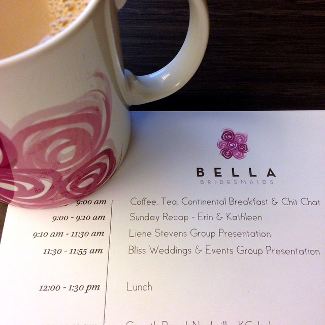 Bella Bridesmaids' annual retreat for their franchise owners