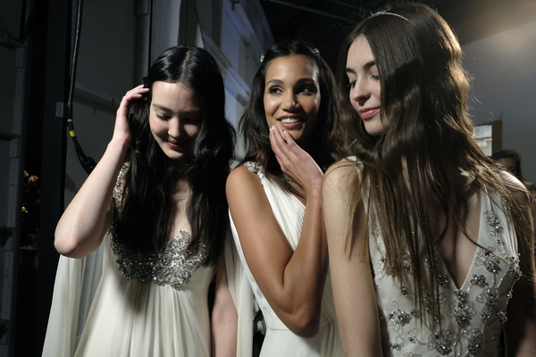 Photo at Bridal Fashion Week by    Cameron Clark