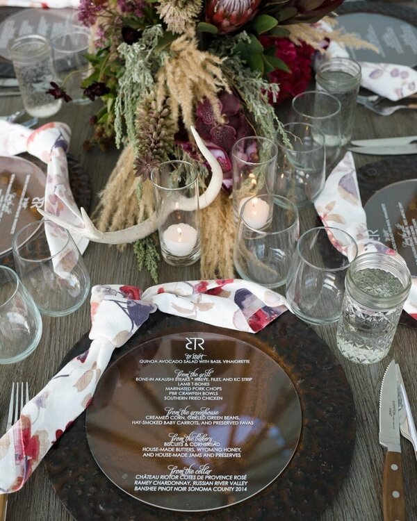 Event design by    Todd Events   . Photography by    Cameron Clark   .