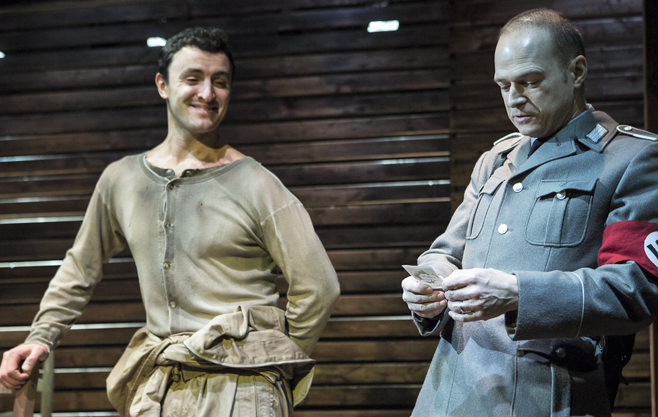 Lowell Byers as Fowler, with Gabe Bettio as Otto.