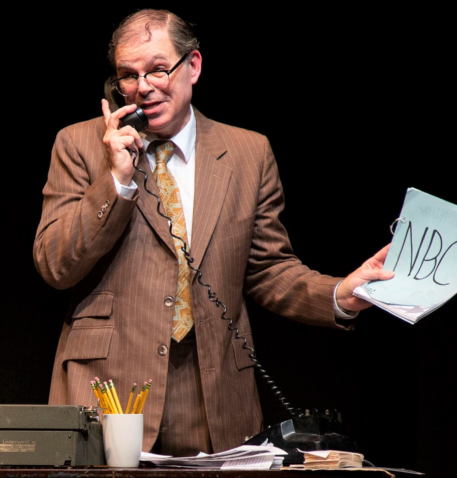 Phil Johnson as Bernie Lutz in  A Jewish Joke , written by Johnson and Marni Freedman.