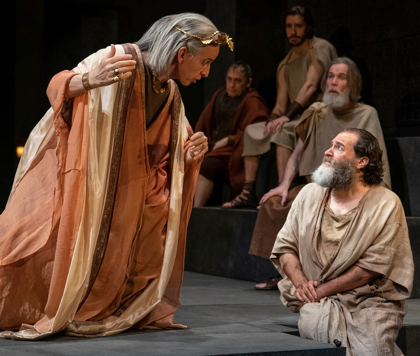 Scene from Socrates
