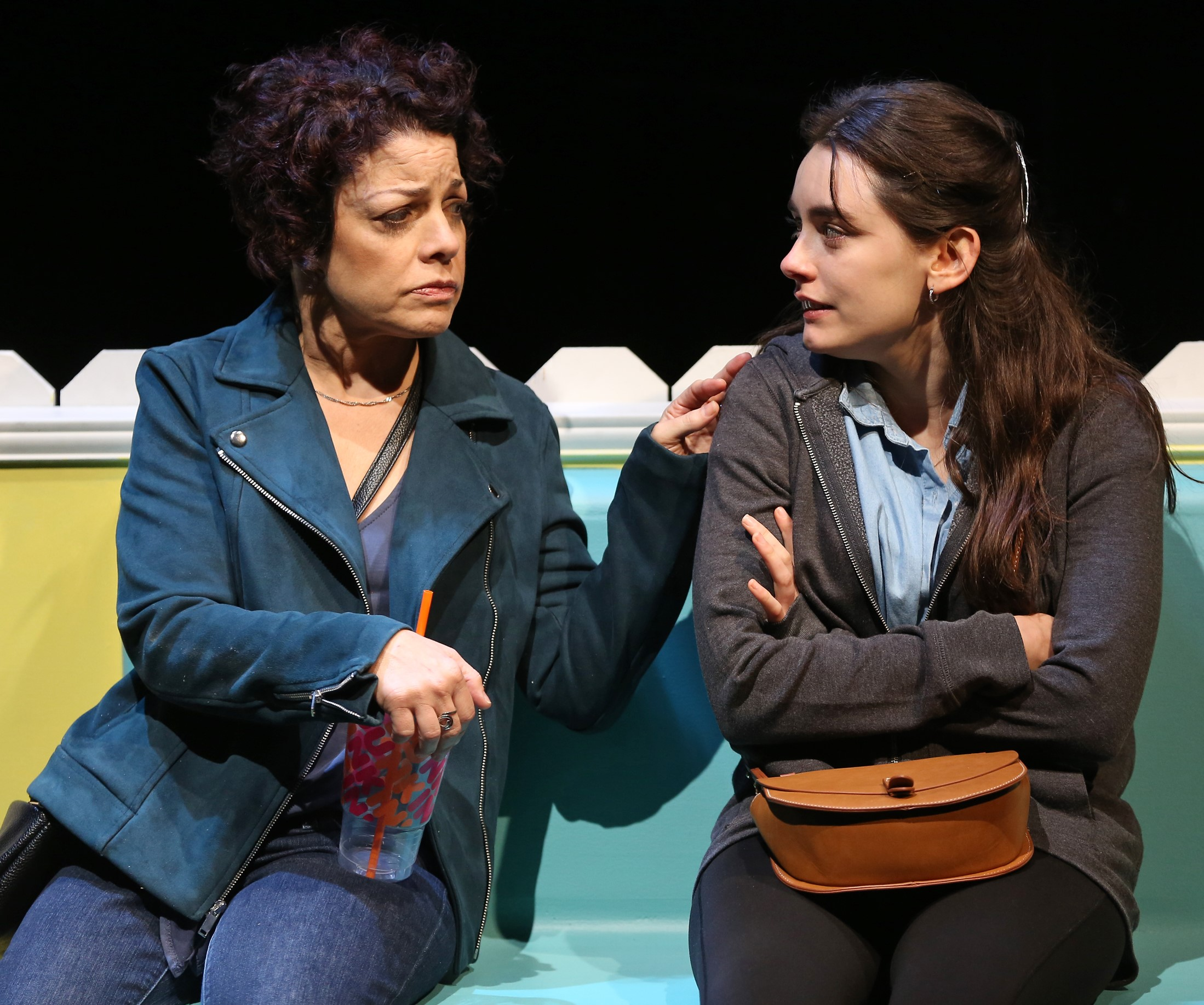 Miriam counsels a troubled Hannah.