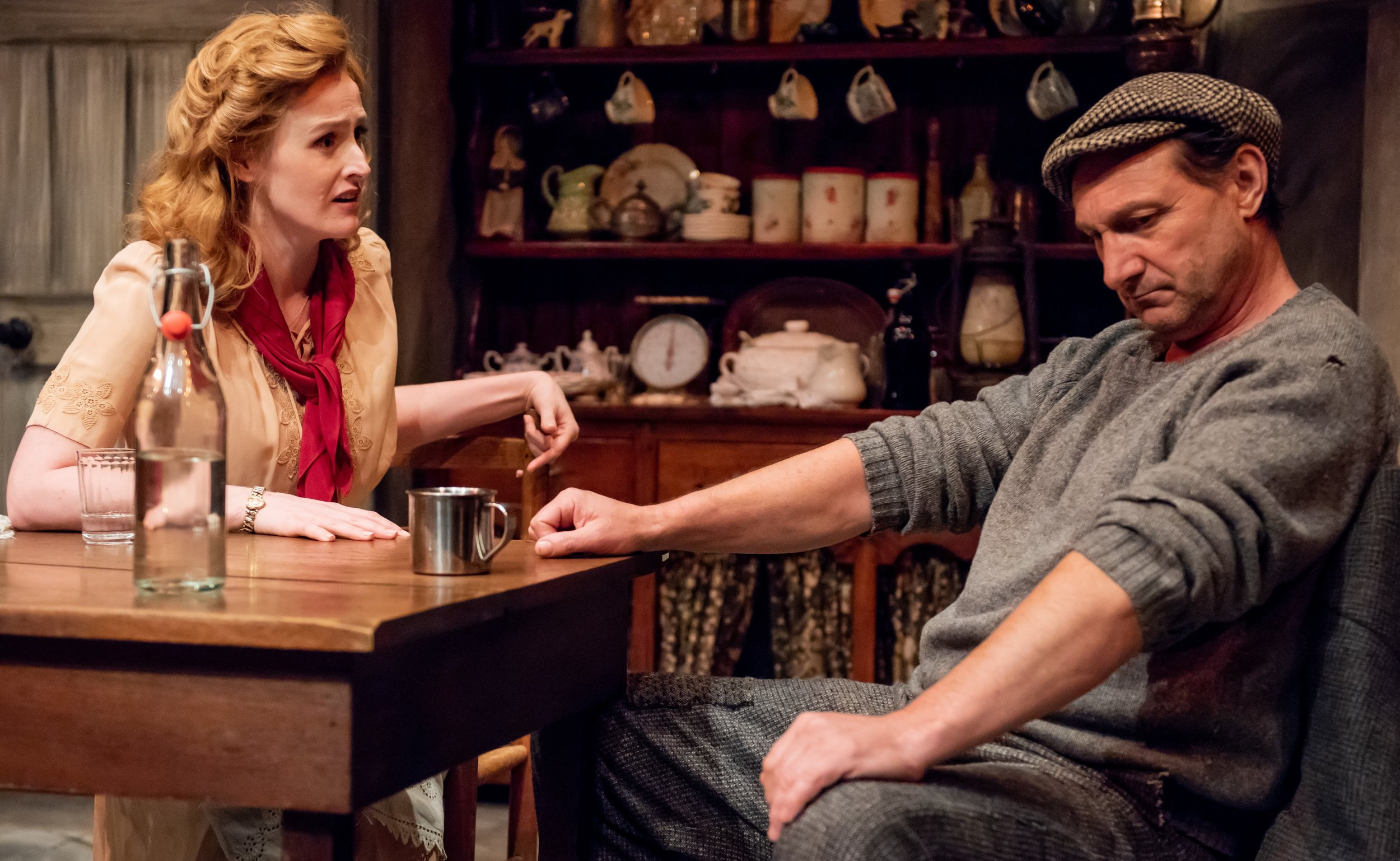 Meaney as Bairbre finds herself at odds with her new father-in-law, hard-nosed farmer Martin Grealish (Con Horgan).