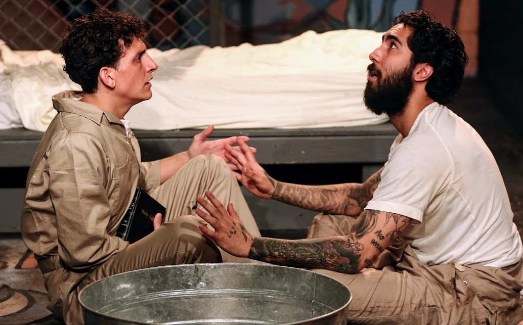 Bara (d'Amato) and Jesús, played by Anwar Wolf, make a spiritual connection.