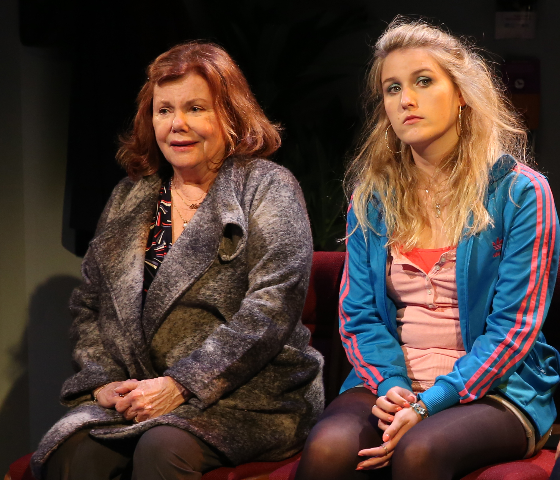 Mason with Lauren O'Leary as her granddaughter Amber.