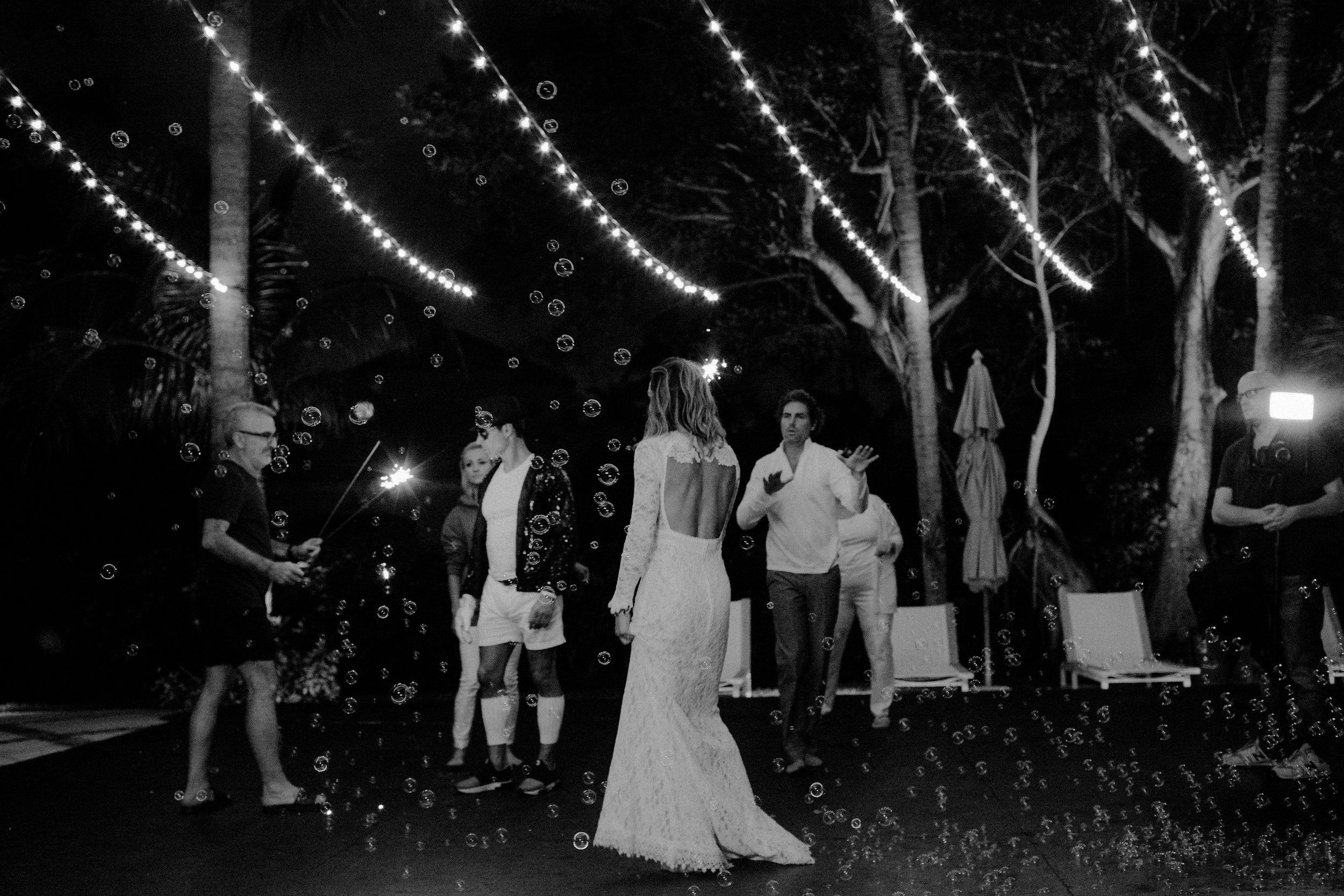 backyard receptions