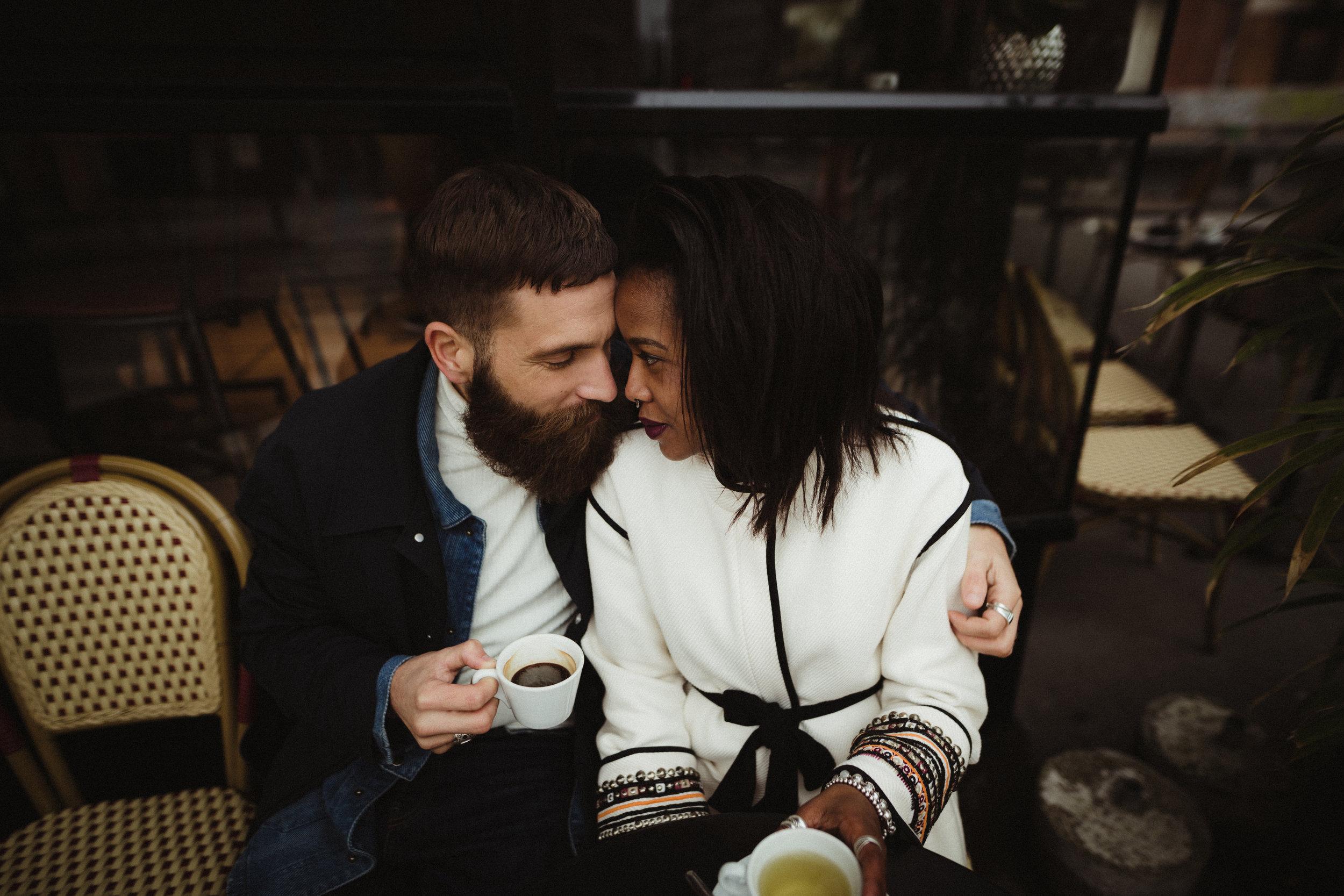 paris couple engagement