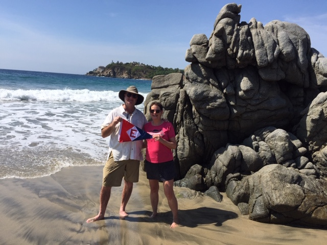 Greetings from Bob & Suzanne Pritchard in Puerto Escondido, Mexico