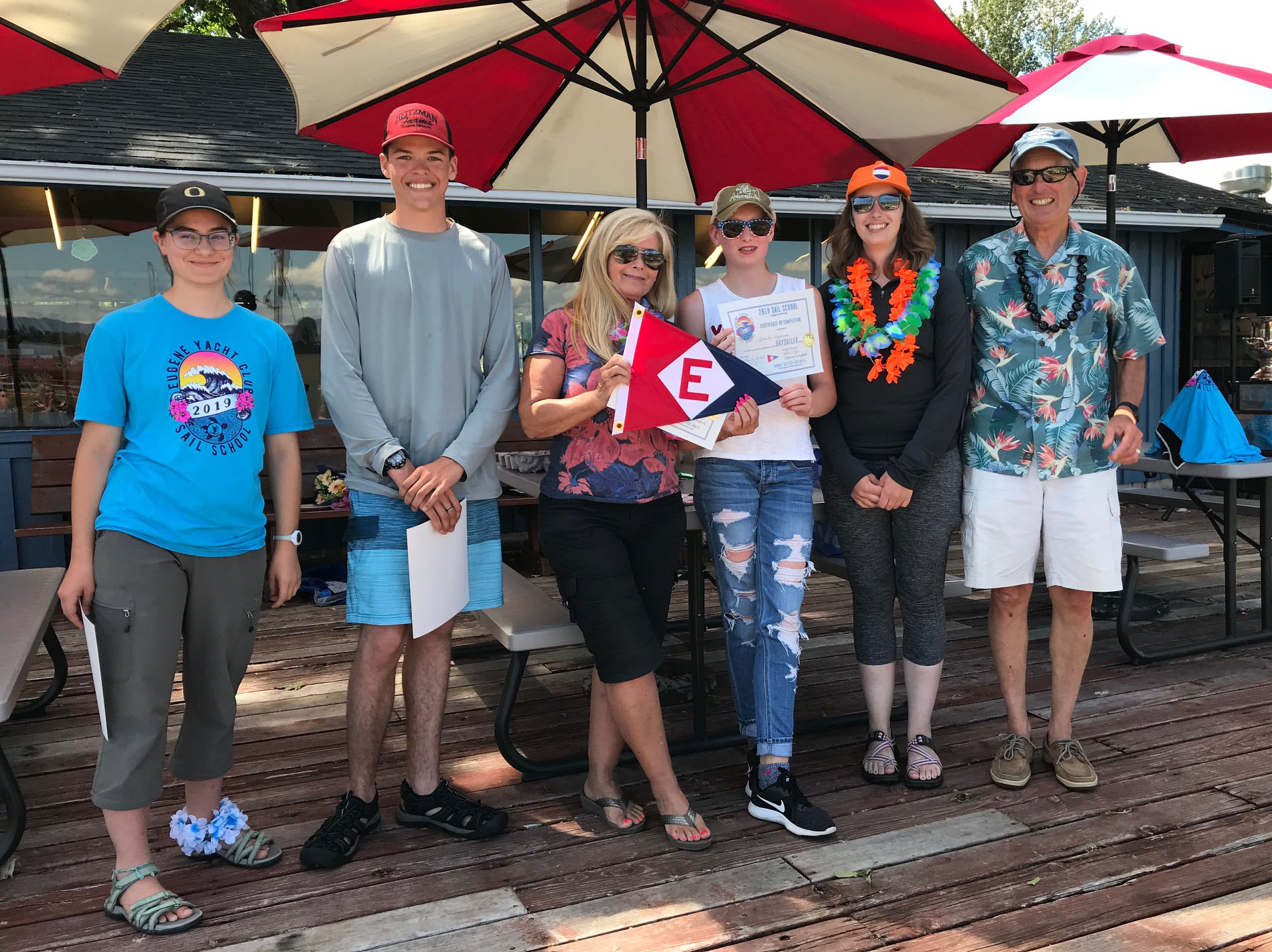 The DaySailer Class of 2019 EYC Sail School
