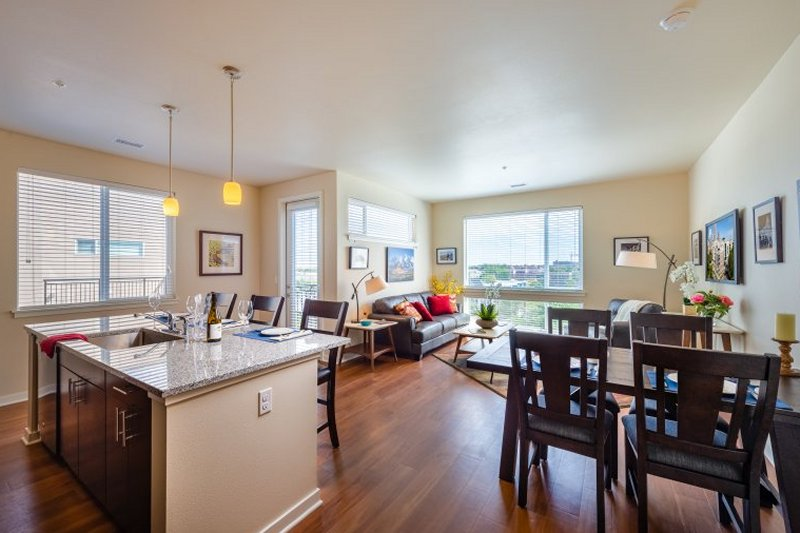 Residents enjoy our spacious contemporary urban floorplans