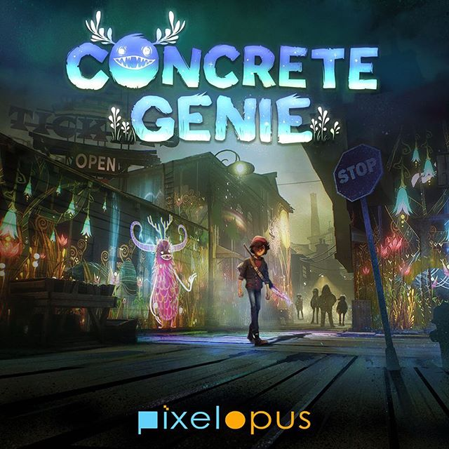 We can't wait for the upcoming release of Concrete Genie after hearing about it from alumnus Jeff Sangalli this afternoon. Jeff (class of 2015) is an art director at Sony Interactive Entertainment. His team, PixelOpus, uses cutting-edge technology to create visually and emotionally beautiful stories for PlayStation.