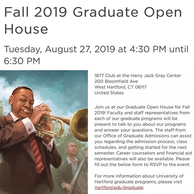 Local illustrators! Interested in learning more about our low residency program? Stop by the @uhartgrad Open House next Tuesday to chat with Program Manager, @shaynapiascik. Painting by @keithloweart (class of 2020). #ctartist #hartfordart #illustration #mfaillustration