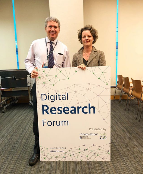 BWH Precision Medicine Program: Digital Research Forum   In April 2018, Jeff Golden, MD and Claudia Rizzini, PhD joined iHub for our Digital Research Forum, and shared information about the BWH Precision Medicine Program.