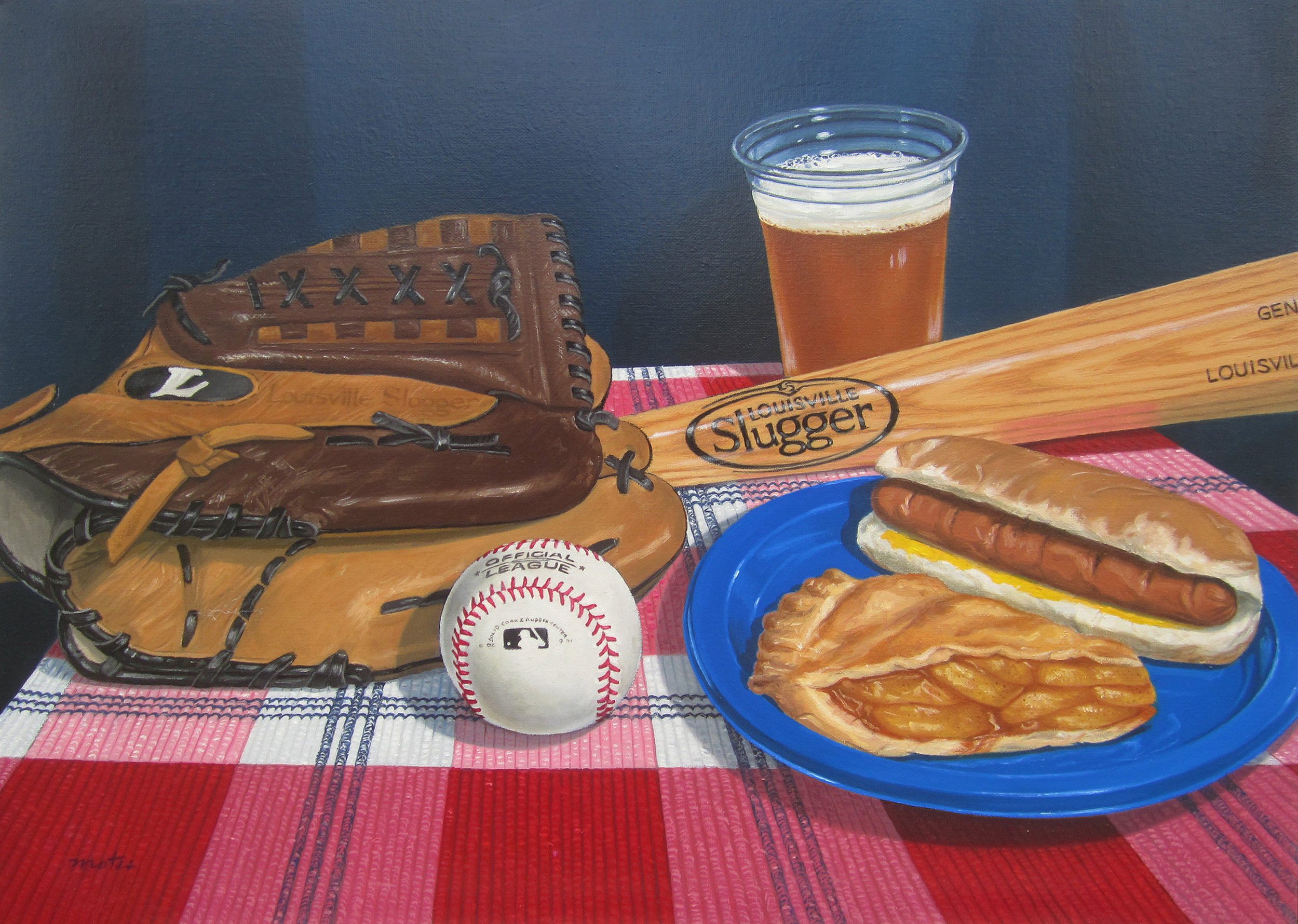 Baseball, Hot Dog and Apple Pie