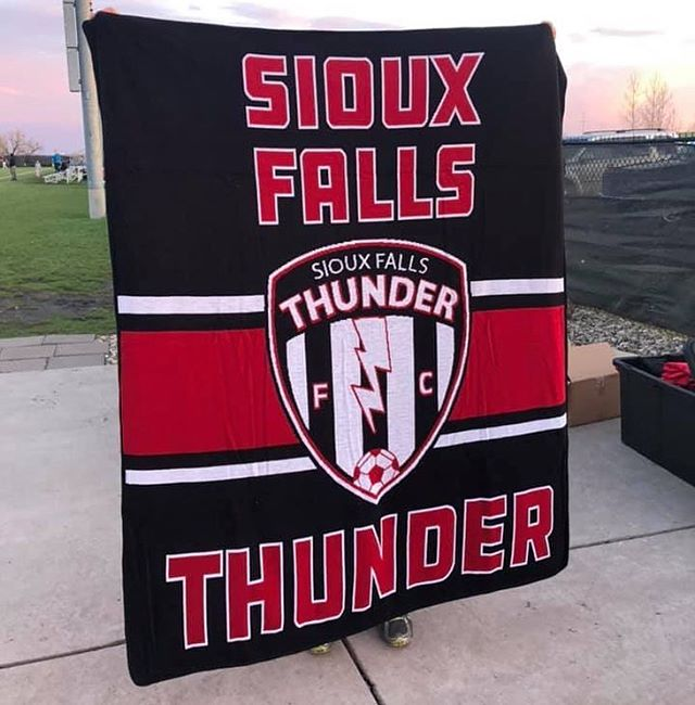 We have a NEW item this season!! Check out these super warm, high quality Thunder blankets for those chilly game nights! Only $50!