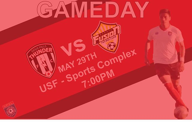 We are taking on @dakota_fusion_fc at 7pm today USFSports Complex⚽️ @npslsoccer @npsl_north
