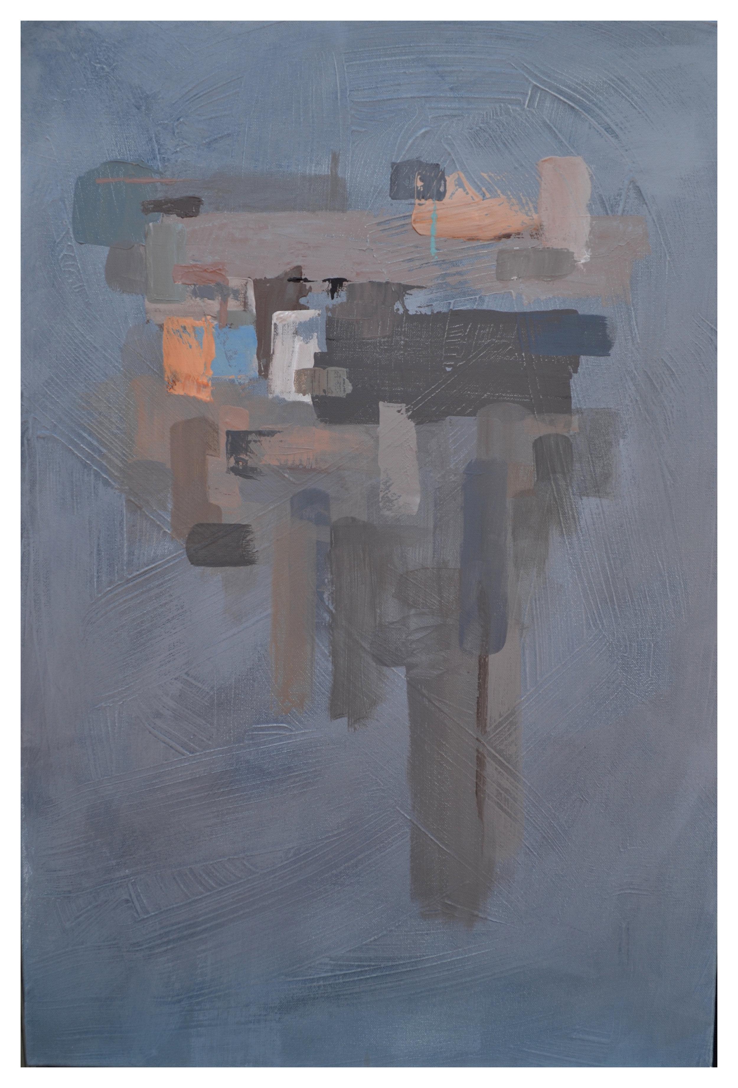 """II , Acrylic on canvas, 20"""" x 30"""""""