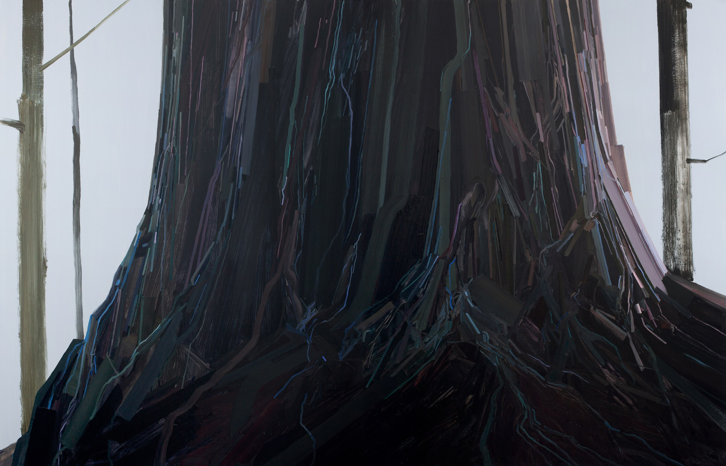 "Tree , 2014, Oil on canvas, 108 x 168"""