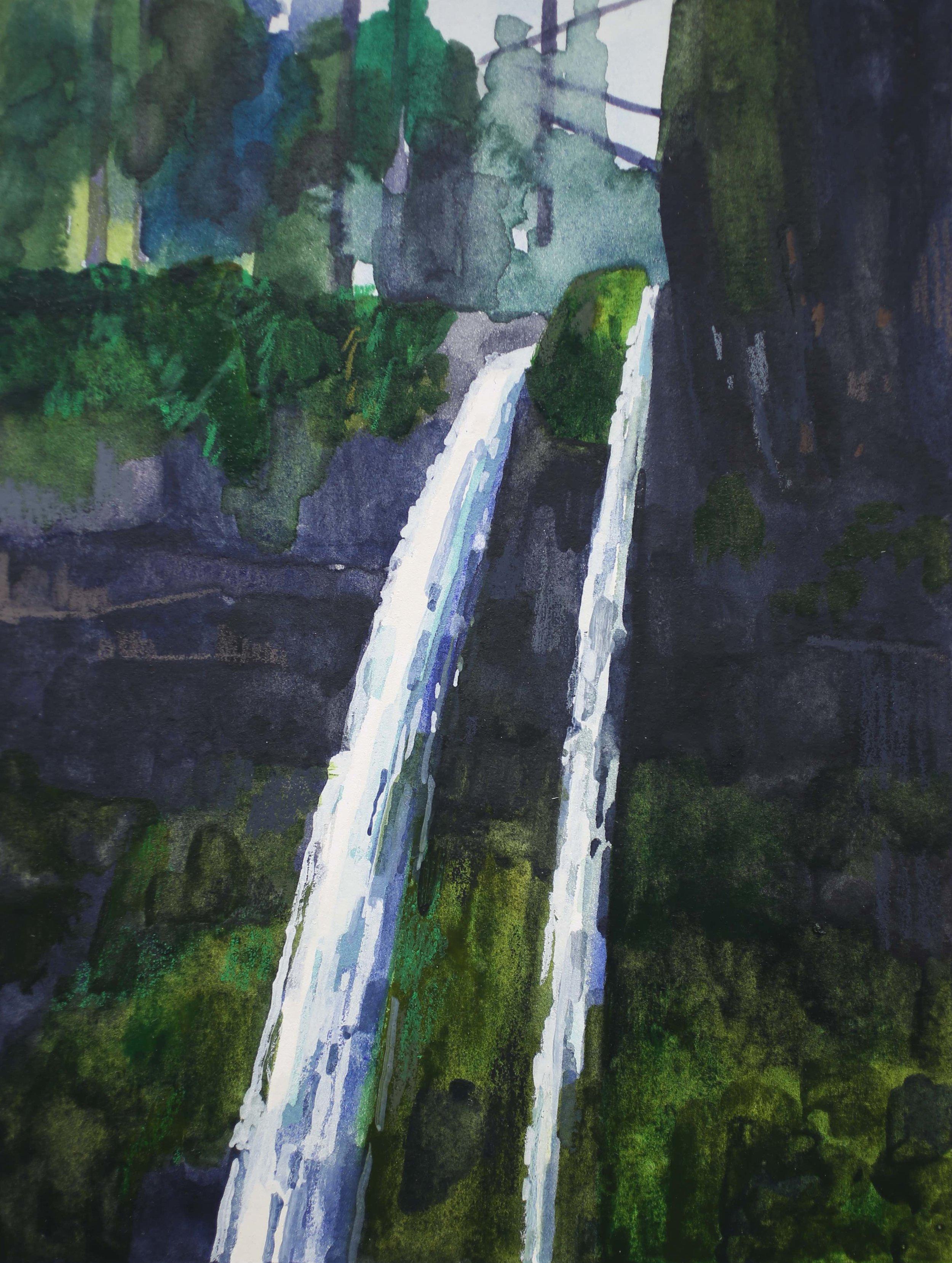 Waterfall, 2017