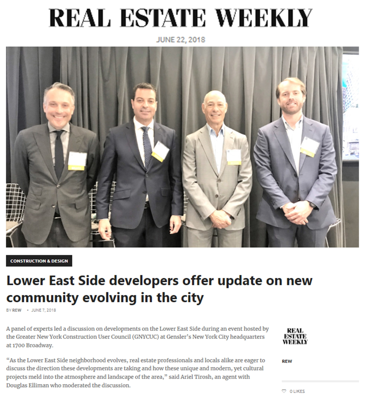 Lower East Side developers offer update on new community evolving in the city