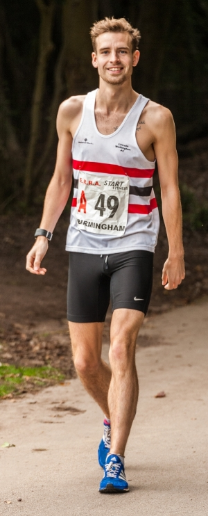 Shane just before the 2016 National 6-stage road relay championships in birmingham